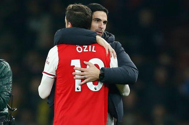 Mezut Ozil Senang Mikel Arteta Menjadi Pelatih Arsenal